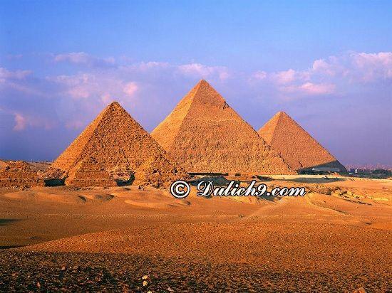 Địa điểm tham quan nổi tiếng ở Ai Cập/ Du lịch Ai Cập có gì hay? Kinh nghiệm du lịch Ai Cập từ a-Z