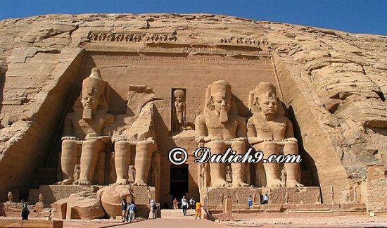 Địa điểm tham quan nổi tiếng ở Ai Cập/ Du lịch Ai Cập có gì hay? Hướng dẫn lịch trình tham quan, vui chơi, ăn uống khi du lịch Ai Cập