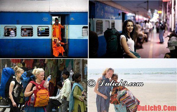 Đồ dùng phụ nữ nên mang theo khi du lịch Ấn Độ