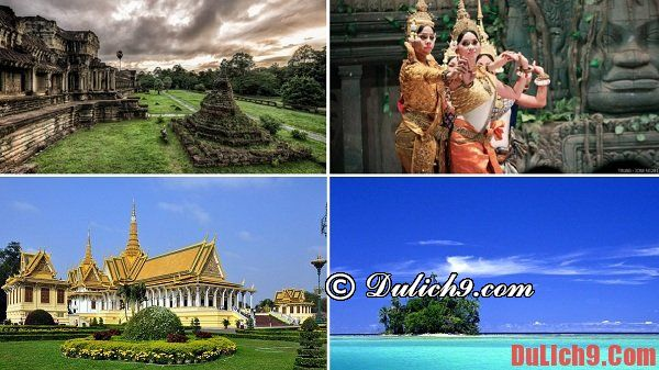 Du lịch Campuchia về địa điểm tham quan