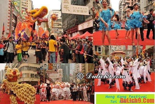 Du lịch Hồng Kông mùa lễ hội đường phố sôi động - Những lễ hội đặc sắc ở Hồng Kông