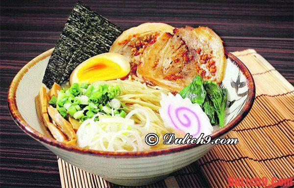 Thưởng thức những món ăn hấp dẫn khi du lịch Nhật Bản
