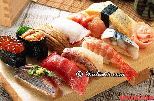 Du lịch Nhật Bản qua những món ăn ngon: Nhật Bản có đặc sản gì ngon?