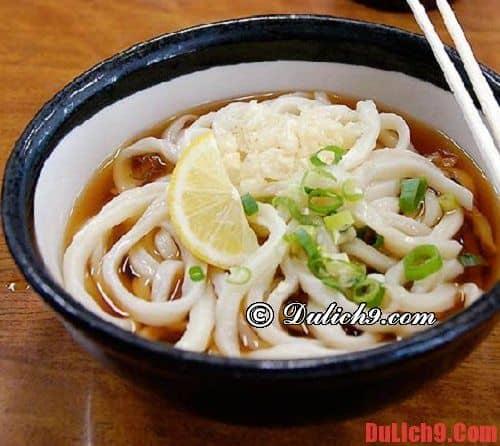 10 món ăn nổi tiếng của 10 thành phố du lịch Nhật Bản