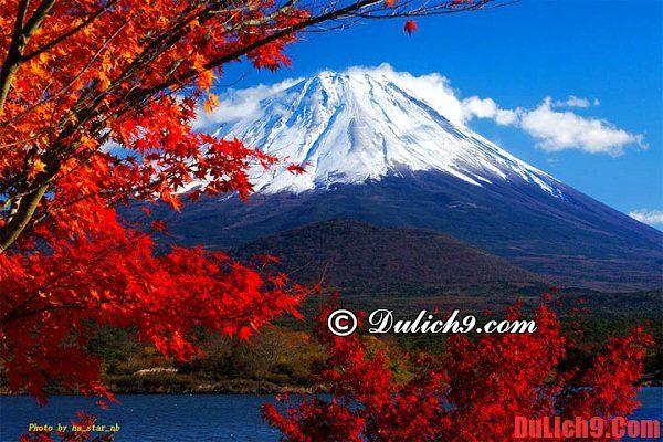 Du lịch Nhật Bản thời điểm nào đẹp nhất? - mùa thu