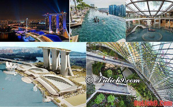 Những công trình kiến trúc khiến cả thế giới ngưỡng mộ của Singapore