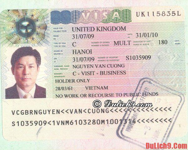 Những lưu ý quan trọng khi làm visa du lịch Anh: Hướng dẫn thủ tục nộp hồ sơ xin visa đi Anh