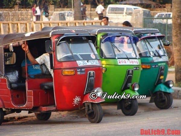 Phương tiện di chuyển tại Ấn Độ