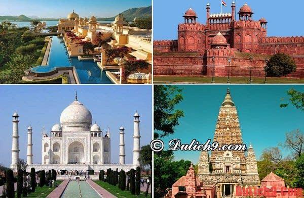 Hướng dẫn du lịch Ấn Độ: địa điểm tham quan