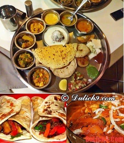 Hướng dẫn du lịch Ấn Độ  về ẩm thực - Kinh nghiệm du lịch Ấn độ
