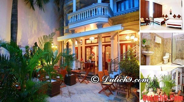 Khách sạn giá rẻ, tiện nghi và tầm nhìn đẹp ở Sài Gòn