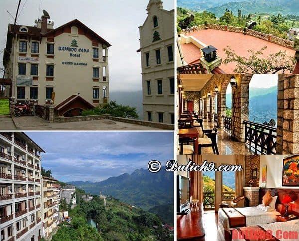 Bamboo Sapa-Khách sạn giá rẻ đẹp nhất Sapa: Tư vấn chọn khách sạn bình dân ở Sapa sạch sẽ, tiện nghi nên đặt phòng
