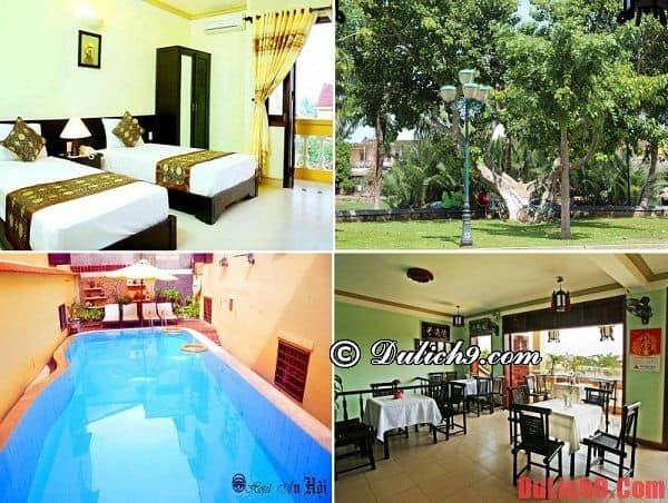 Khách sạn giá rẻ và chất lượng nên ở khi du lịch Hội An