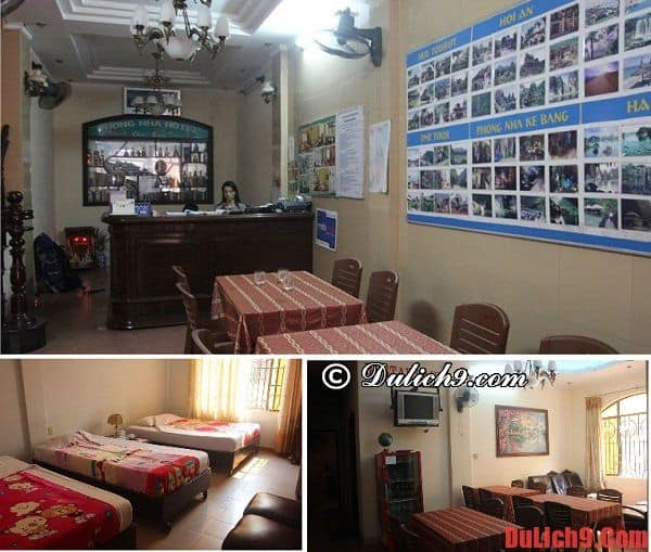 Khách sạn Huế giá rẻ: khách sạn Phong Nha