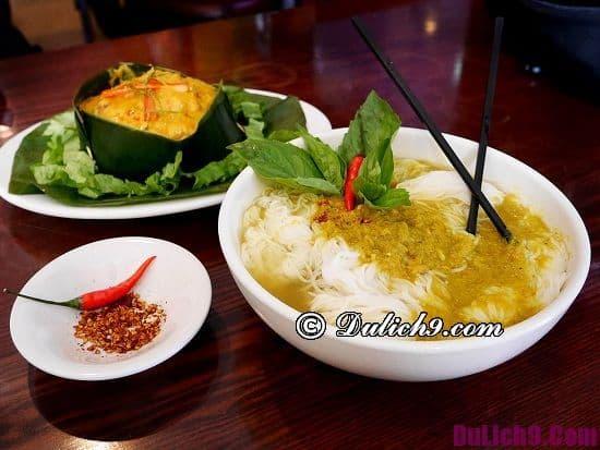 Món ăn nổi tiếng khi du lịch Campuchia