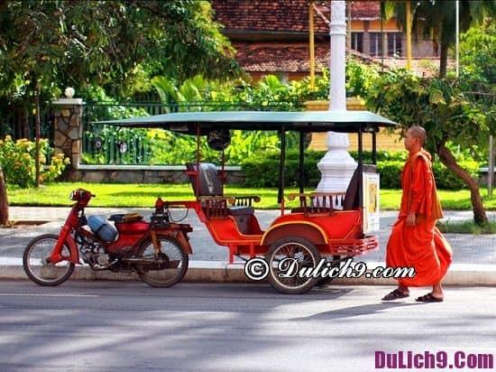 Phương tiện đi tới Campuchia