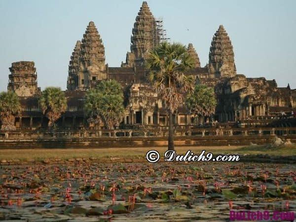 Đi đâu khi du lịch Campuchia?