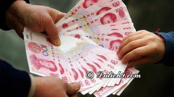 Lưu ý đi Trung Quốc về: Nhập cảnh, hành lí, đổi tiền...vv