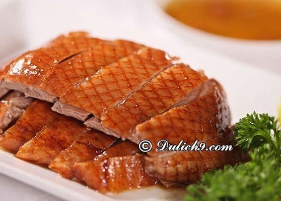 Ăn gì khi du lịch Trung Quốc/ Thưởng thức món ngon, đặc sản Trung Quốc