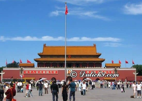 Địa điểm tham quan đẹp ở Trung Quốc/ Nên đi đâu ở Trung Quốc