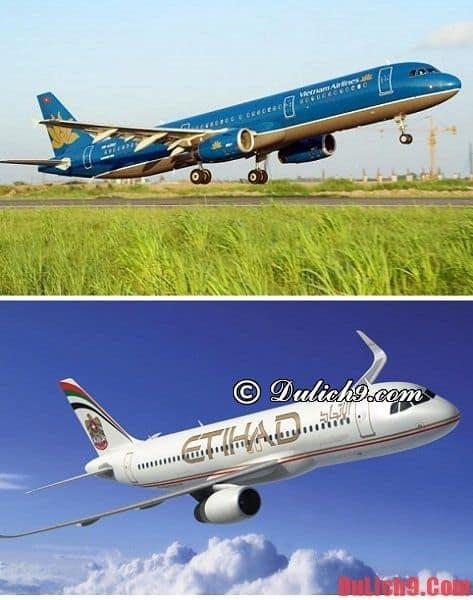 Phương tiện di chuyển tới Abu Dhabi