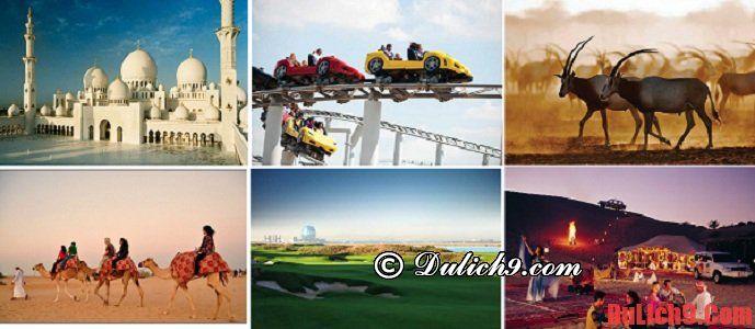 Địa điểm tham quan ở Abu Dhabi