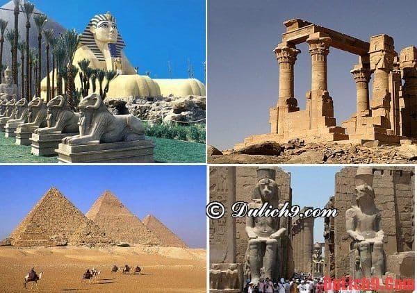 Điểm đến hấp dẫn ở Ai Cập