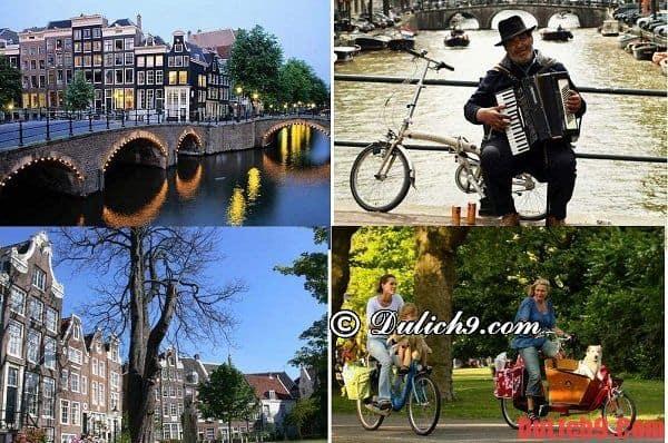 Điểm tham quan hấp dẫn ở Amsterdam
