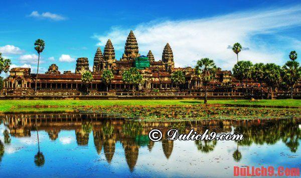Kinh nghiệm du lịch Angkor Wat: Hướng dẫn đi lại, tham quan, vui chơi, ăn uống khi du lịch Angkor Wat - Campuchia