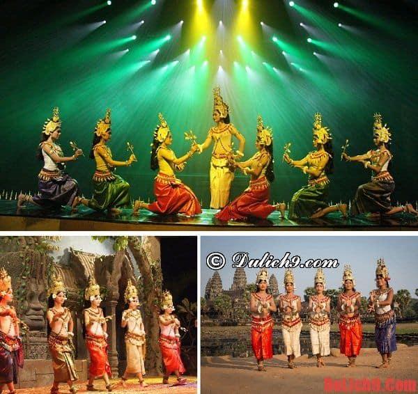 Chương trình ca múa nhạc với điệu Apsara