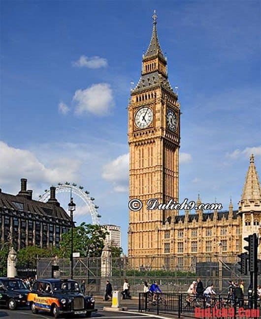 Kinh nghiệm thú vị khi du lịch vương quốc Anh: Hướng dẫn du lịch Anh chi tiết