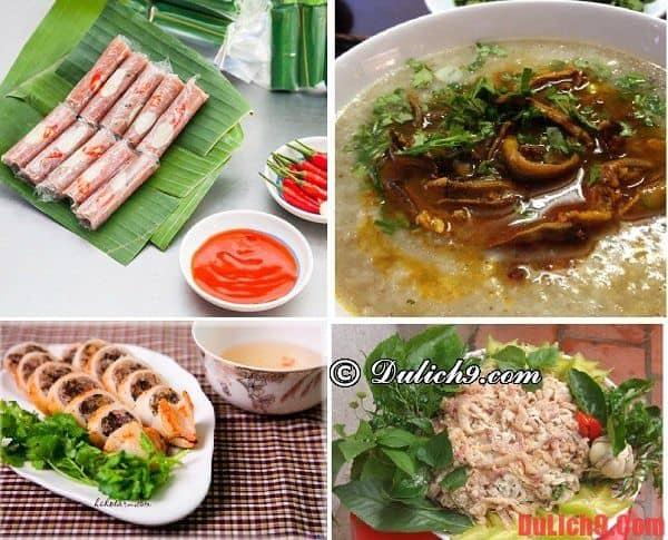 Món ngon khi du lịch Sầm Sơn