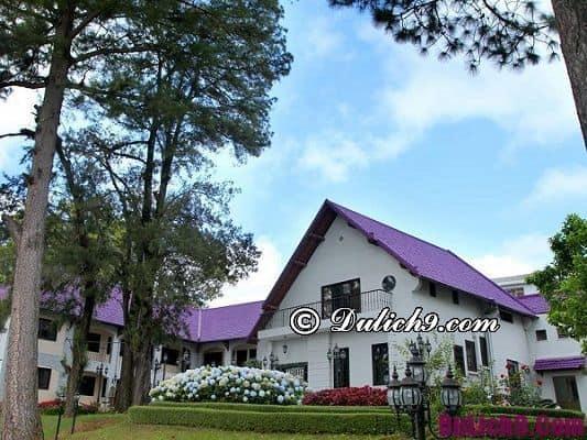 Khách sạn, nhà nghỉ ở Đà Lạt đẹp