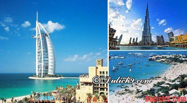 Địa điểm tham quan nổi tiếng ở Dubai
