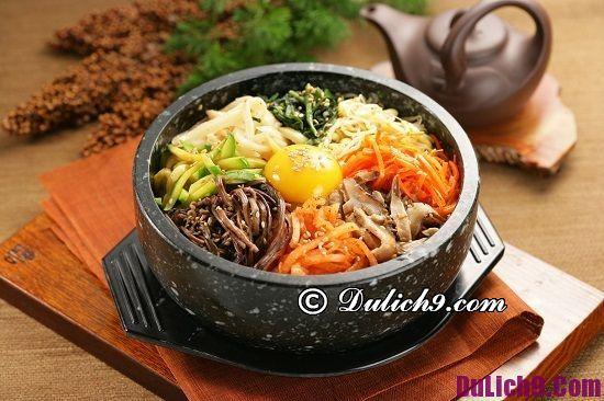 Món ăn đặc trưng ở Hàn Quốc