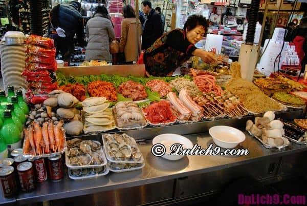Địa chỉ ăn uống ở Hàn Quốc
