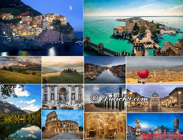 Kinh nghiệm du lịch Italia giá rẻ