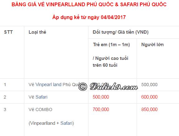 Khu vui chơi giải trí Vinpearl Phú Quốc: Du lịch Phú Quốc nên đi đâu chơi, tham quan?