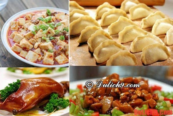 Món ngon khi du lịch Trung Quốc