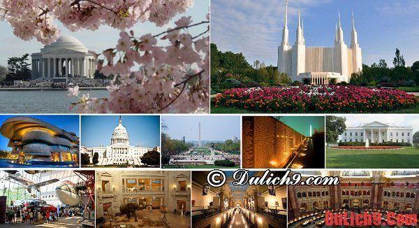 Kinh nghiệm du lịch Washington tự túc