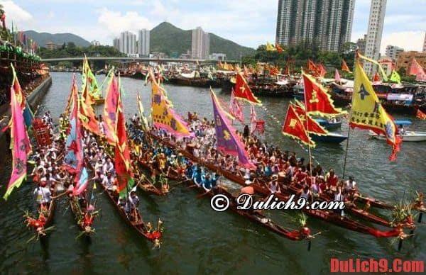 Du lịch Hồng Kông mùa lễ hội thuyền rồng: Thời gian, địa điểm diễn ra những lễ hội văn hóa lớn ở Hồng Kông