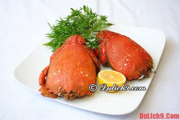 Mẹo tránh ngộ độc hải sản khi du lịch