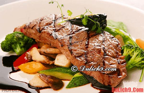 Món ăn ngon khi du lịch Úc - Thịt bò Úc