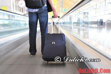 Nguyên tắc vàng quan trọng khi xếp hành lý du lịch