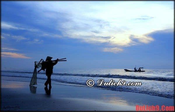 Bãi biển đẹp ở Thanh Hóa - Bãi biển Hải Tiến