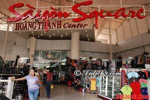 Địa chỉ mua sắm giá rẻ nên đến khi du lịch Sài Gòn