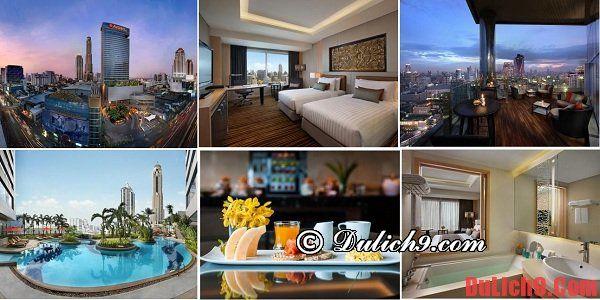 Những khách sạn giá rẻ, chất lượng, tiện nghi tại Bangkok - Thái Lan: Amari Watergate Bangkok