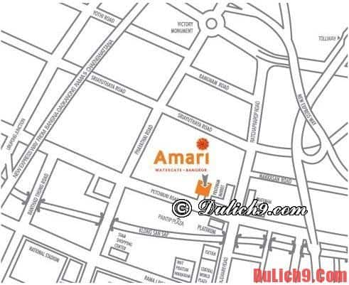 Khách sạn Amari Watergate Bangkok