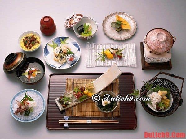 Du lịch Nhật Bản thử ăn bữa cơm truyền thống