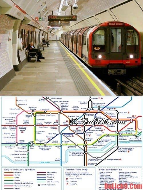 Tàu hỏa: Phương tiện thăm quan Anh Quốc tiện lợi nhất